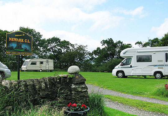 Newark Farm caravan site camping ground