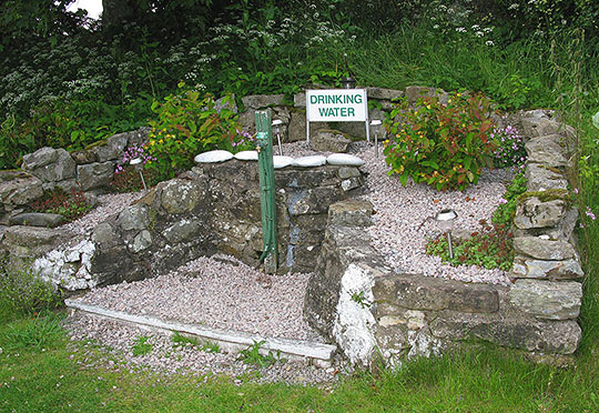 Water point at Newark Farm Caravan site
