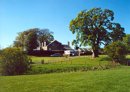 Newark Farm - farmhouse bed and breakfast accommodation in Dumfries and Galloway