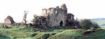 Sanquhar Castle, a historic location in Dumfries and Galloway