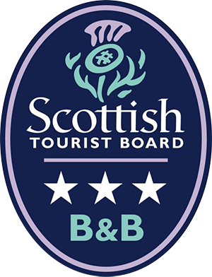 Scottish Tourist Board Three Star Rated Bed and Breakfast Accommodation